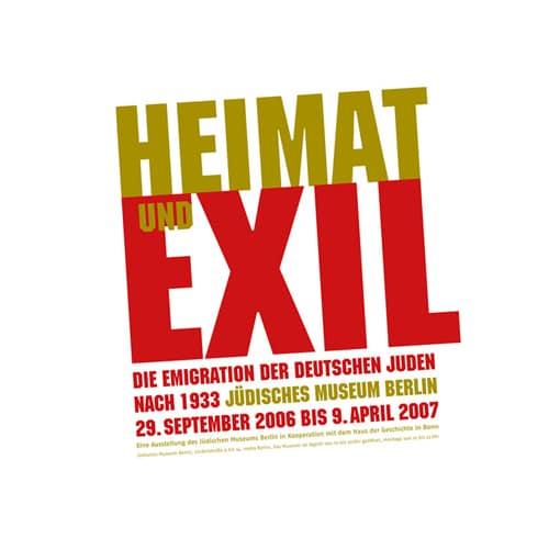 »Heimat und Exil«, Marke