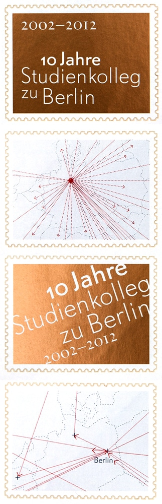 Studienkolleg zu Berlin, Briefmarken