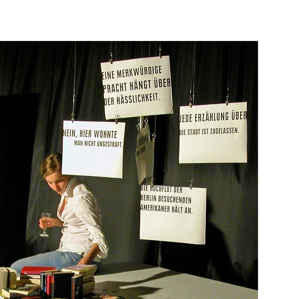 Präsentation, »Stadt als Text«